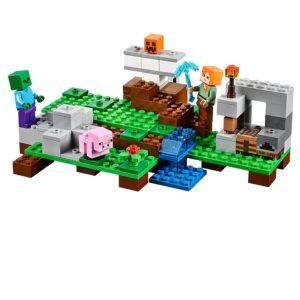 lego minecraft iron golem