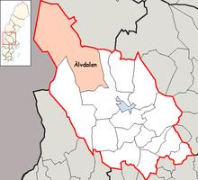 Area of Sweden