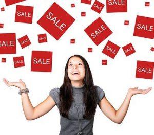 Sales on!