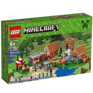 Lego Minecraft Village set